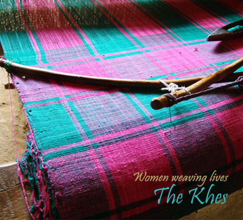 Khes Weaving Punjab India Gaatha ग थ Handicrafts