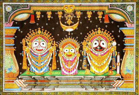 puri pattachitra The most detailed and skilled pattachitra work is found in and around puri,  especially in the village of raghurajpur this old tradition of oriya.