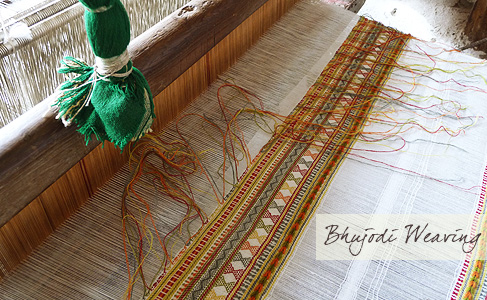bhujodi-weaving